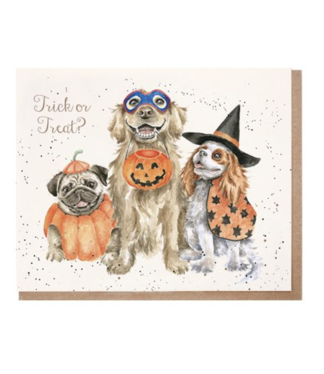 Wrendale Designs Trick or Treat Card