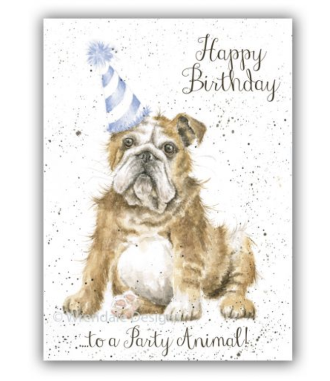 Wrendale Designs Party Animal Birthday Card
