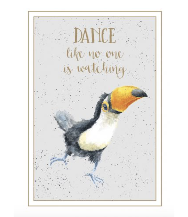 Wrendale Designs Dance Like No One Is Watching Card