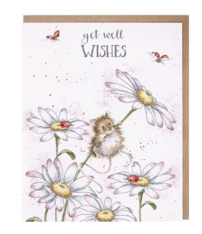 Wrendale Designs Get Well Wishes Card