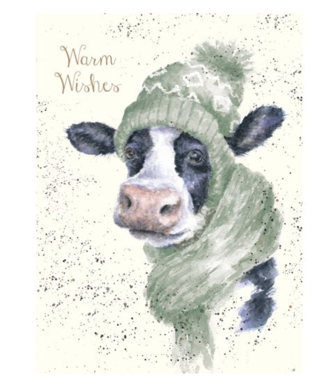 Wrendale Designs Warm Wishes Card