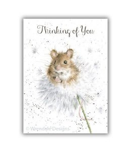Wrendale Designs Thinking of You Dandelion Card