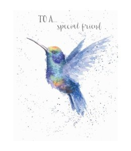 Wrendale Designs To A Special Friend Card