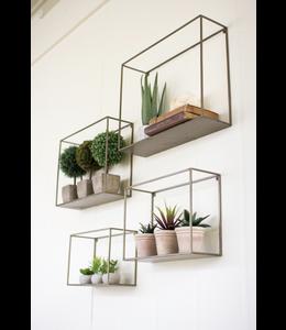 Kalalou Small Metal Shelf