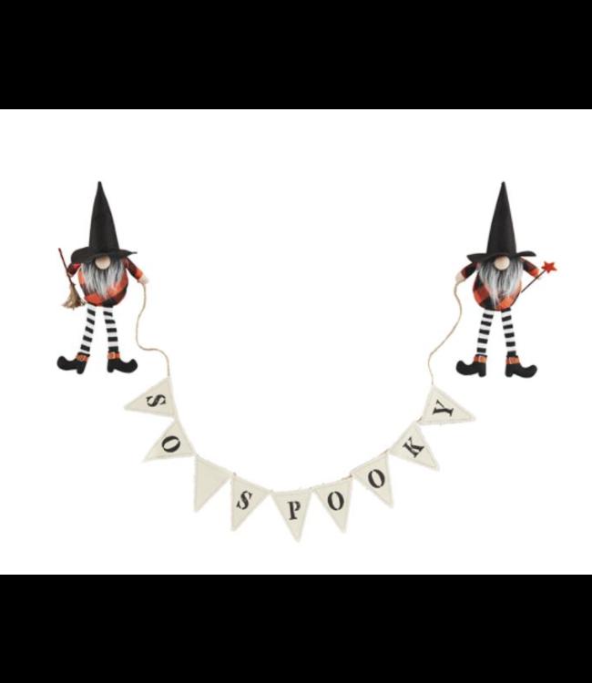 MudPie Halloween Gnome Banner