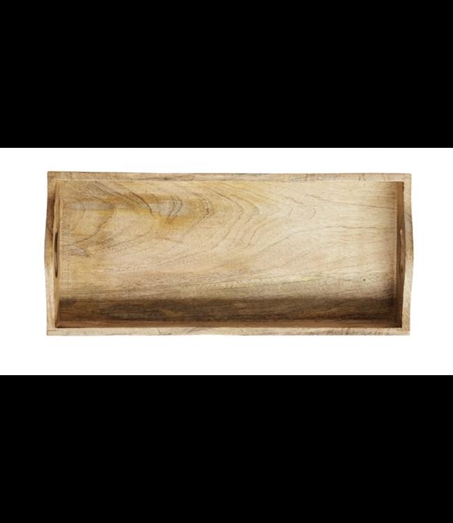 Creative Co-Op Rectangle Mango Wood Tray- Large