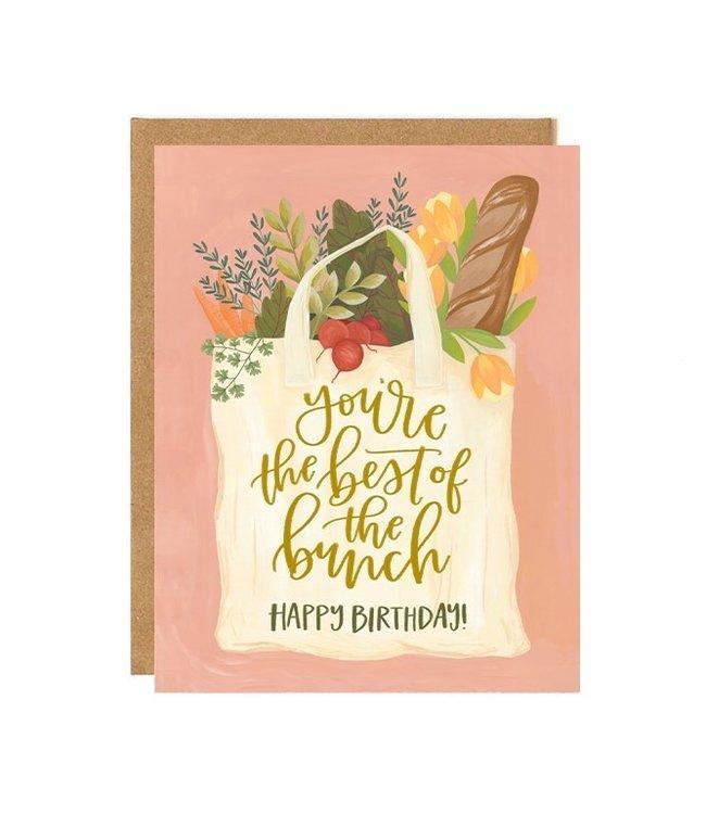 1Canoe2 Best of the Bunch Birthday Card