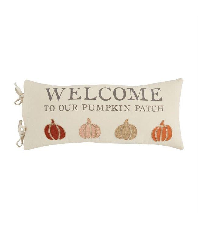 MudPie Pumpkin Patch Pillow