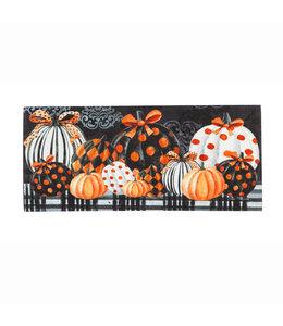 Evergreen Elegant Pattern Pumpkins