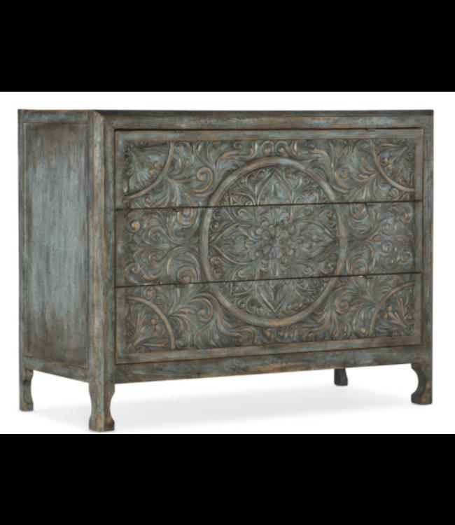 Hooker Furniture La Grange Lockhart Three-Drawer Accent Chest