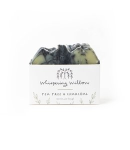 Whispering Willow Tea Tree and Charcoal Bar Soap
