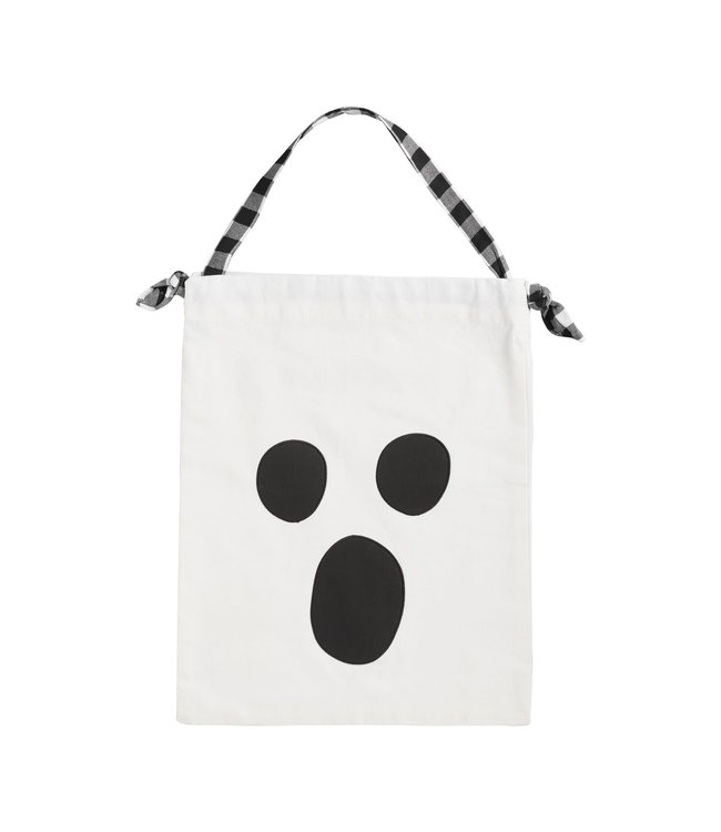 MudPie Ghost Pillowcase Candy Bag