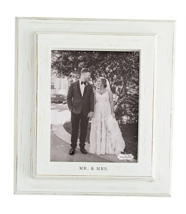 MudPie 8 x 10 Mr and Mrs Frame