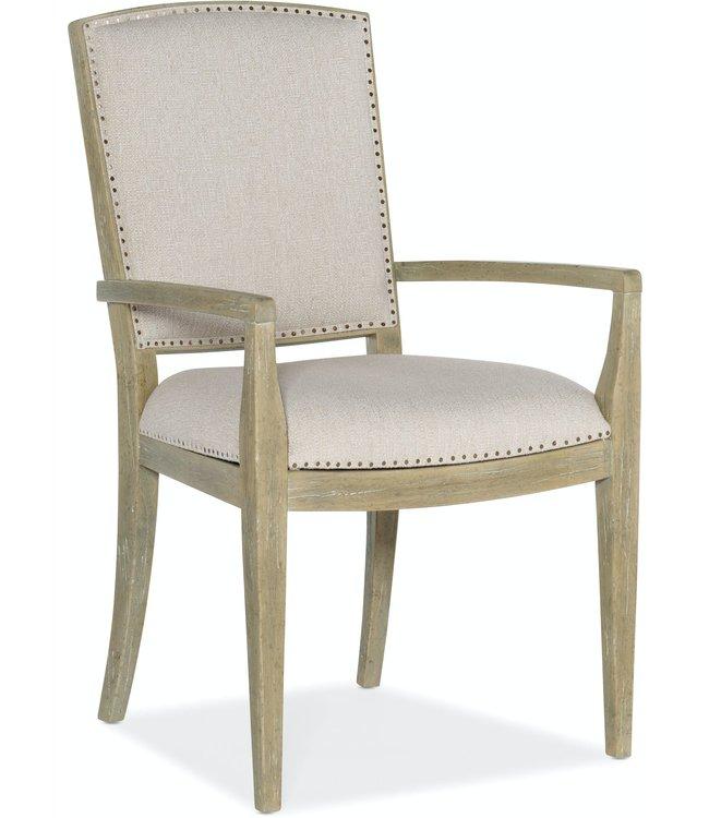 Hooker Furniture Surfrider Carved Back Arm Chair