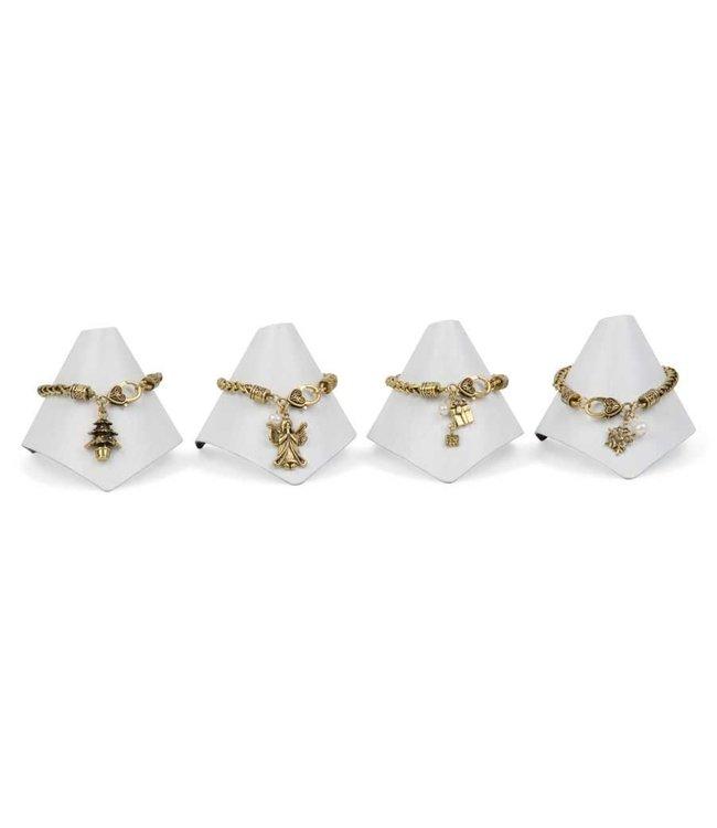 K&K Interiors Assorted Antique Gold Bracelet