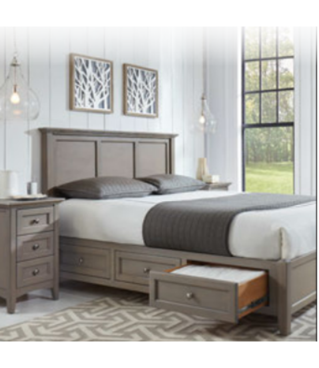 McKenzie King Petite Storage Bed