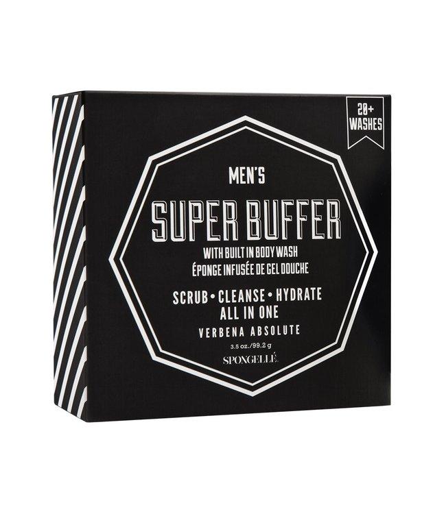 Spongelle Men's Super Buffer Verbena Absolute