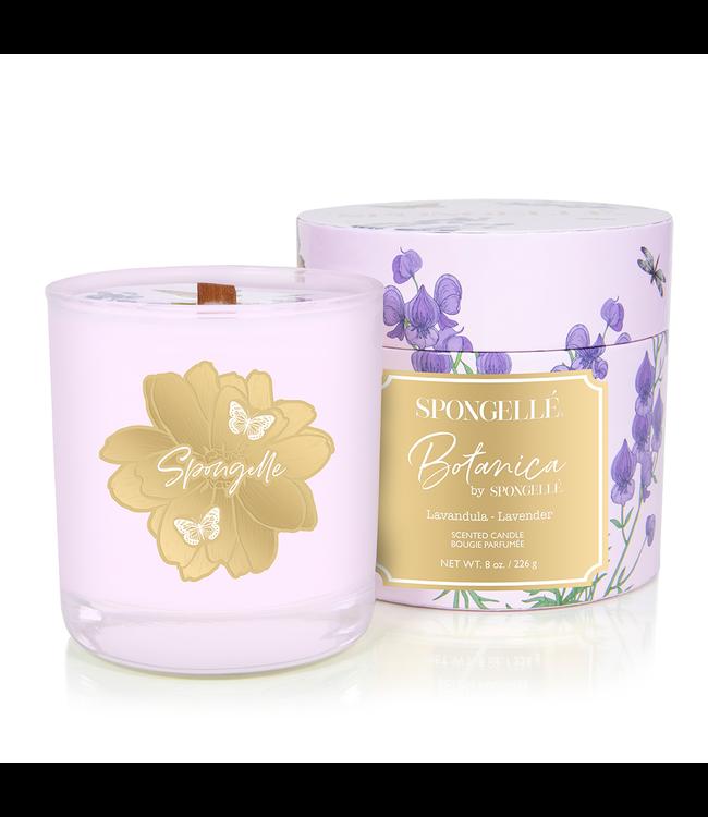 Spongelle Botanica Hand Poured Candle Lavender
