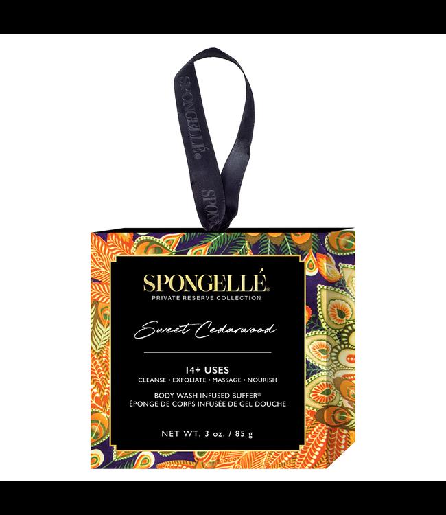 Spongelle Sweet Cedarwood Body Wash Infused Buffer