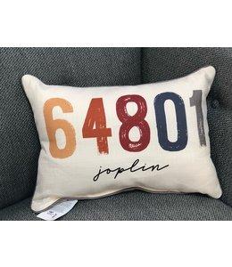 Little Birdie Sunset Zip Code Pillow 64801