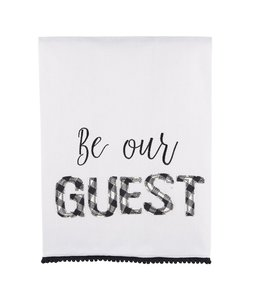Glory Haus Be Our Guest Tea Towel