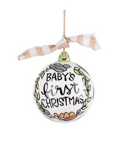 Glory Haus Baby's First Christmas Ornament