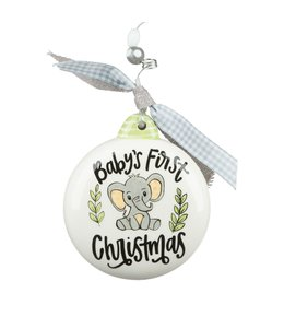 Glory Haus Baby First Ornament