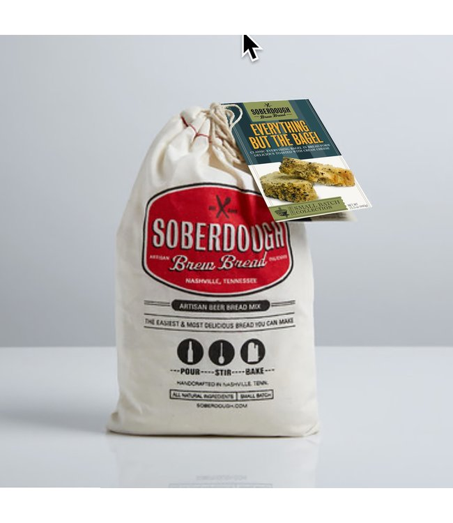 Soberdough Brew Bread- Everything But The Bagel