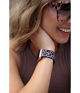 Thomas & Lee Company Pink Cheetah Nylon Apple Watch Band - 38/40mm