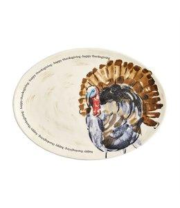 MudPie Turkey Platter