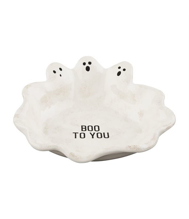 MudPie Ghost Candy Dish