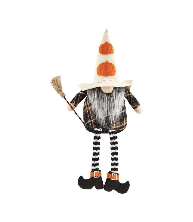 MudPie Pumpkin Hat Dangle Gnome
