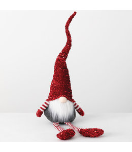 Sullivans Gift Sitting Sequin Gnome