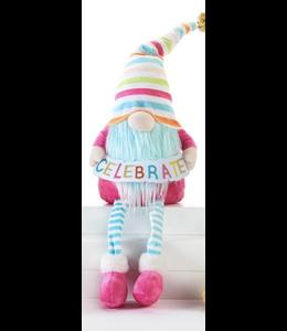 Birthday Banner Gnome Sitter