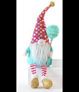 Birthday Balloon Gnome Sitter