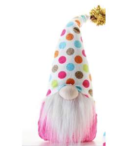 Pink Birthday Gnome