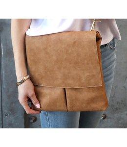 Thomas & Lee Company Tan Leather Handbag