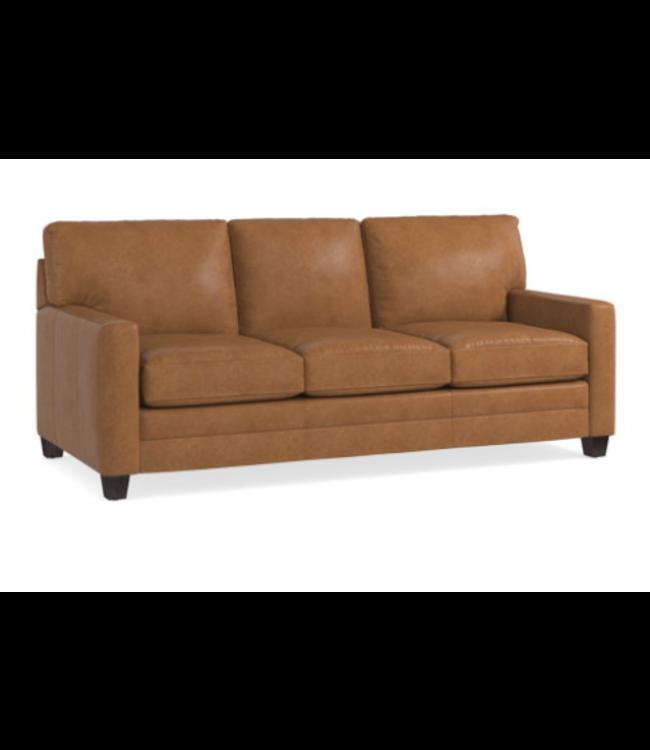 Bassett Ladson Leather Sofa
