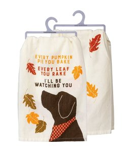 Primitives By Kathy Every Pie You Bake Dish Towel
