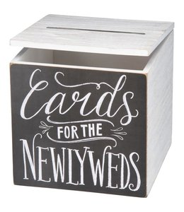 Primitives By Kathy For The Newlyweds Card Box