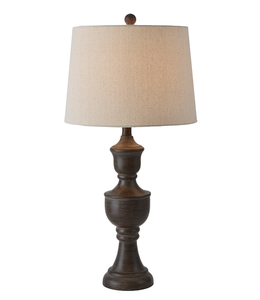 Ganz Espresso Table Lamp