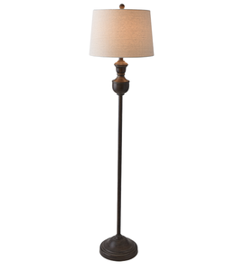 Ganz Espresso Floor Lamp