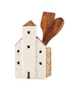 MudPie House Utensil Crock Set