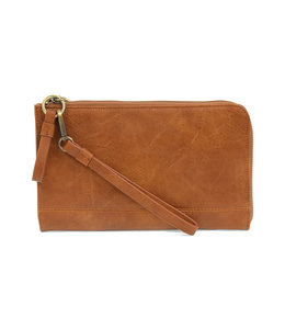 Joy Susan Caramel Karina Convertible Wristlet & Wallet
