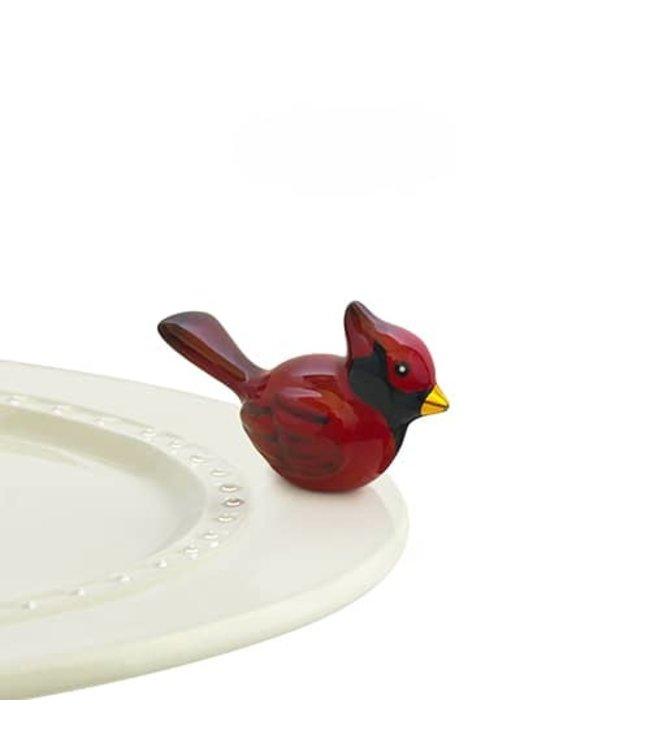 Nora Fleming Mini Winter Songbird