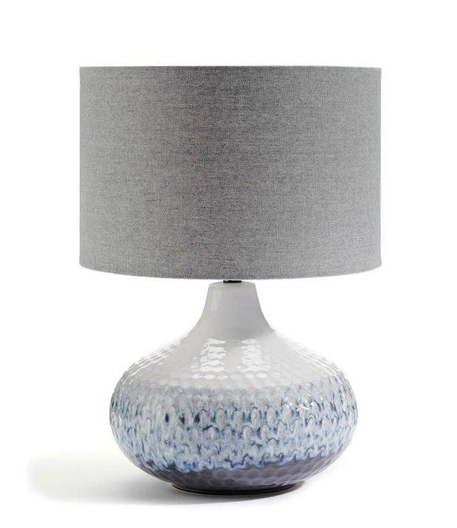 Blue Gradient Porcelain Lamp