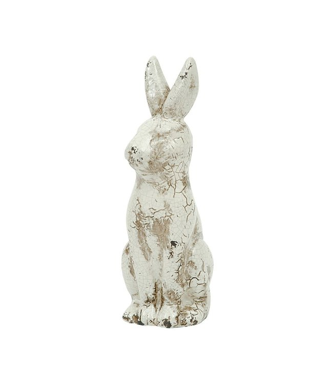 Creative Co-Op Ceramic Rabbit