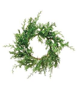 Creative Co-Op Faux Juniper Wreath