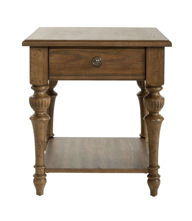 Liberty Furniture Haven Hall Drawer End Table