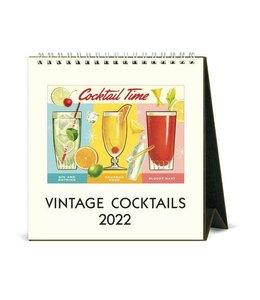 Cavallini & Co. Cocktails Desk Calendar